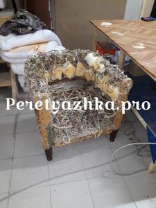 реставрация мягкого кресла