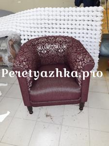 мягкое кресло после реставрации