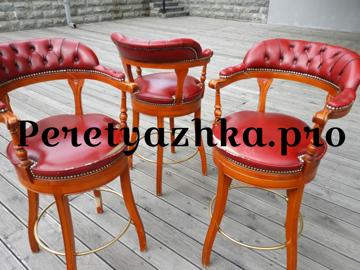 реставрация итальянских барных стульев