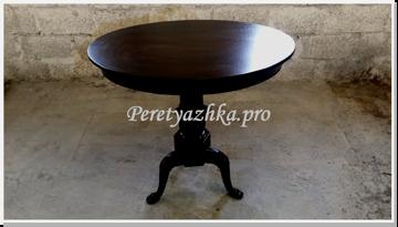 реставрация стола в Пресненском районе