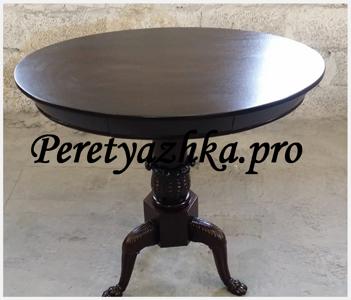 круглый стол после реставрации