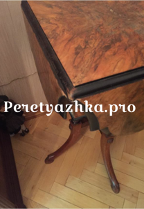 реставрация старинного столика